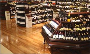 wine department - CMS fixtures