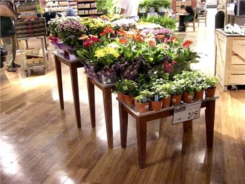 floral nesting table