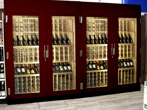 refrigerated wine cabinet