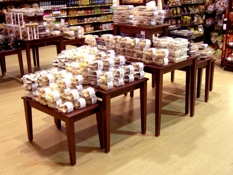bakery nesting tables