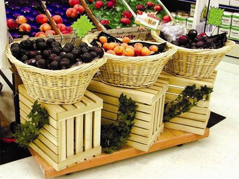 produce crates dollies