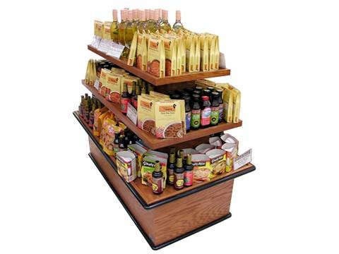 specialty display rack